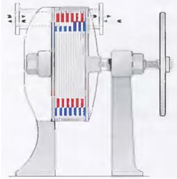 Рис.14 Теплообменник пластинчатого типа был запатентован в 1890 году немецкими изобретателями Лангеном (Langen) и Хундхаузеном (Hundhausen).
