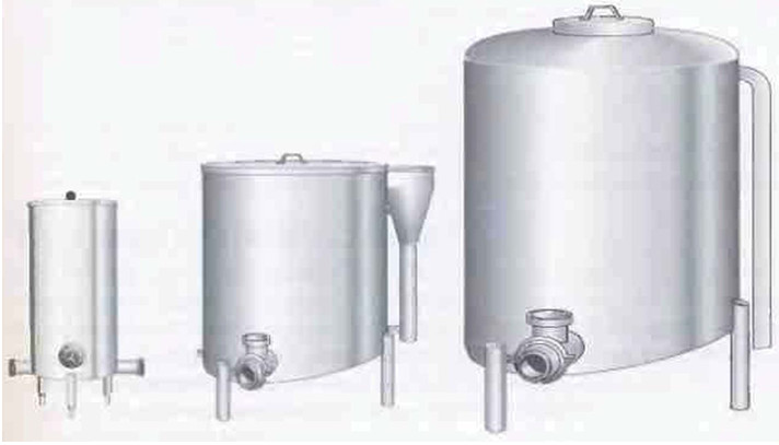 Рис.7 Балансировочные танки выпускаются различных размеров.