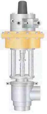 Рис.19 Клапан  с пневматической регулировкой расхода.