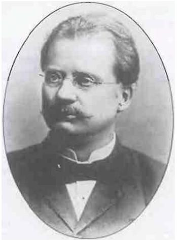 Рис.1 Густав де Лаваль, изобретатель первого центробежного сепаратора непрерывного действия.